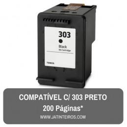 HP 303 Preto Tinteiro Reciclado