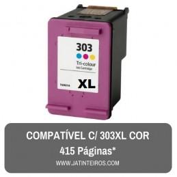HP 303 Cor Tinteiro Reciclado