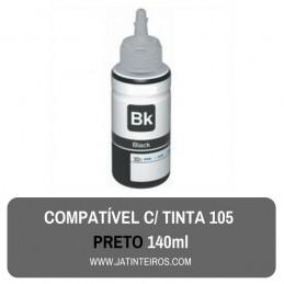 105 Tinta Preto Compativel Pigmentada