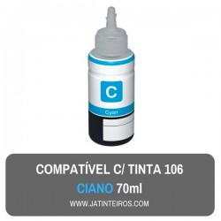 106 Tinta Ciano Compativel
