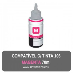 106 Tinta Magenta Compativel