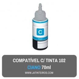 102 Tinta Preta Compativel Pigmentada