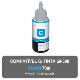GI-590BK Tinta Compativel Preta