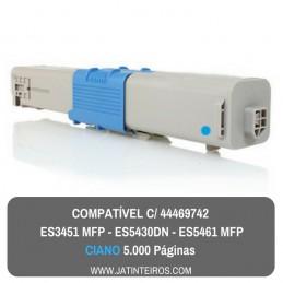 ES3451 MFP, ES5430DN, ES5461 MFP Ciano Toner Compativel 44469742