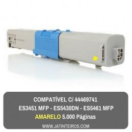 ES3451 MFP, ES5430DN, ES5461 MFP Amarelo Toner Compativel 44469740
