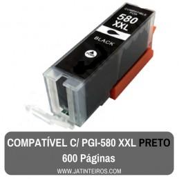 PGI-580 XXL Preto Tinteiro Compativel
