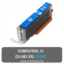 CLI-581 XXL Foto Preto Tinteiro Compativel