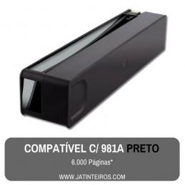 981A Preto Tinteiro Compativel