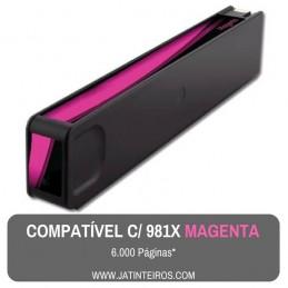 981X Ciano Tinteiro Compativel