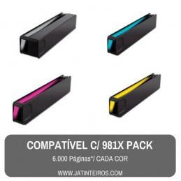 981A Pack Tinteiros Compativeis