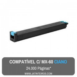 MX-60 Preto Toner Compativel