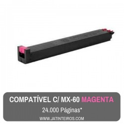 MX-60 Ciano Toner Compativel