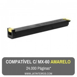 MX-60 Magenta Toner Compativel