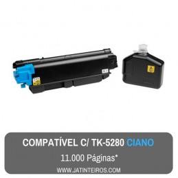 TK-5280 Preto Toner Compativel