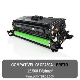 Nº 655A - CF450A Preto Toner Compativel