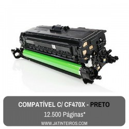 Nº 656X - CF460X Preto Toner Compativel