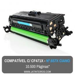 Nº 657X - CF470X Preto Toner Compativel