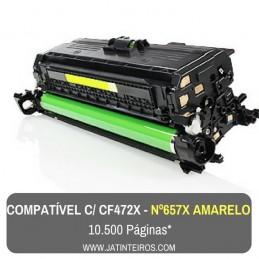 Nº 657X - CF471X Ciano Toner Compativel