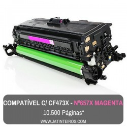 Nº 657X - CF472X Amarelo Toner Compativel