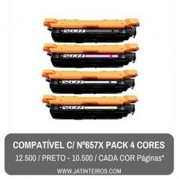 Nº 657X - CF473X Magenta Toner Compativel
