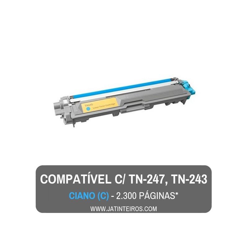 TN-247, TN-243 Preto Toner Compativel