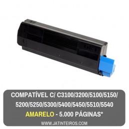 C5100, C5200, C5300, C5400, C5250, C5450, C3100, C3200 Magenta Toner Compativel