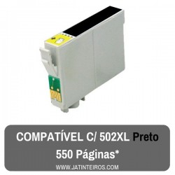 502XL Preto Tinteiro Compativel