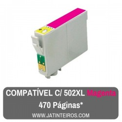 502XL Magenta Tinteiro Compativel