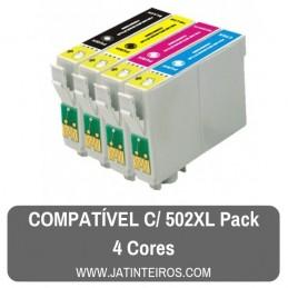 502XL Pack Tinteiros Compativeis