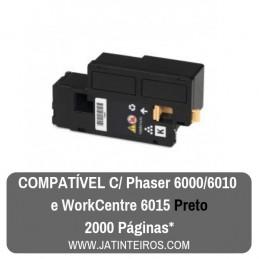 PHASER 6000, 6010, 6015 Preto Toner Compativel