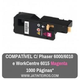 PHASER 6000, 6010, 6015 Magenta Toner Compativel