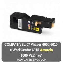 PHASER 6000, 6010, 6015 Amarelo Toner Compativel