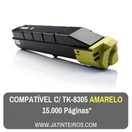 TK-8305 Amarelo Toner Compativel 1T02LKANL0
