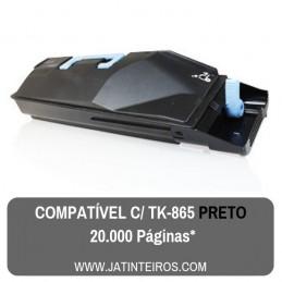TK865 Preto Toner Compativel