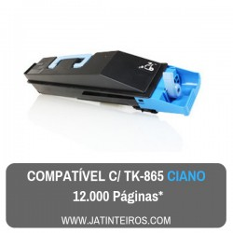 TK865 Ciano Toner Compativel