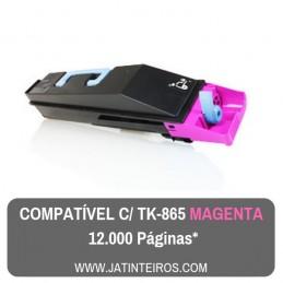 TK865 Magenta Toner Compativel