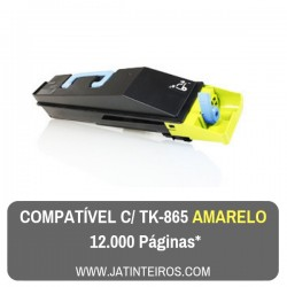 TK865 Amarelo Toner Compativel