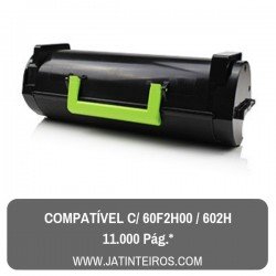 60F2H00, 602H Toner Compativel