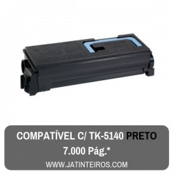 TK5140 Preto Toner Compativel