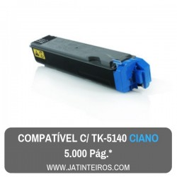 TK5140 Ciano Toner Compativel
