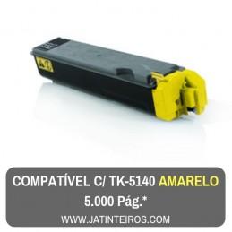 TK5140 Amarelo Toner Compativel