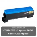 TK-540 Ciano Toner Compativel