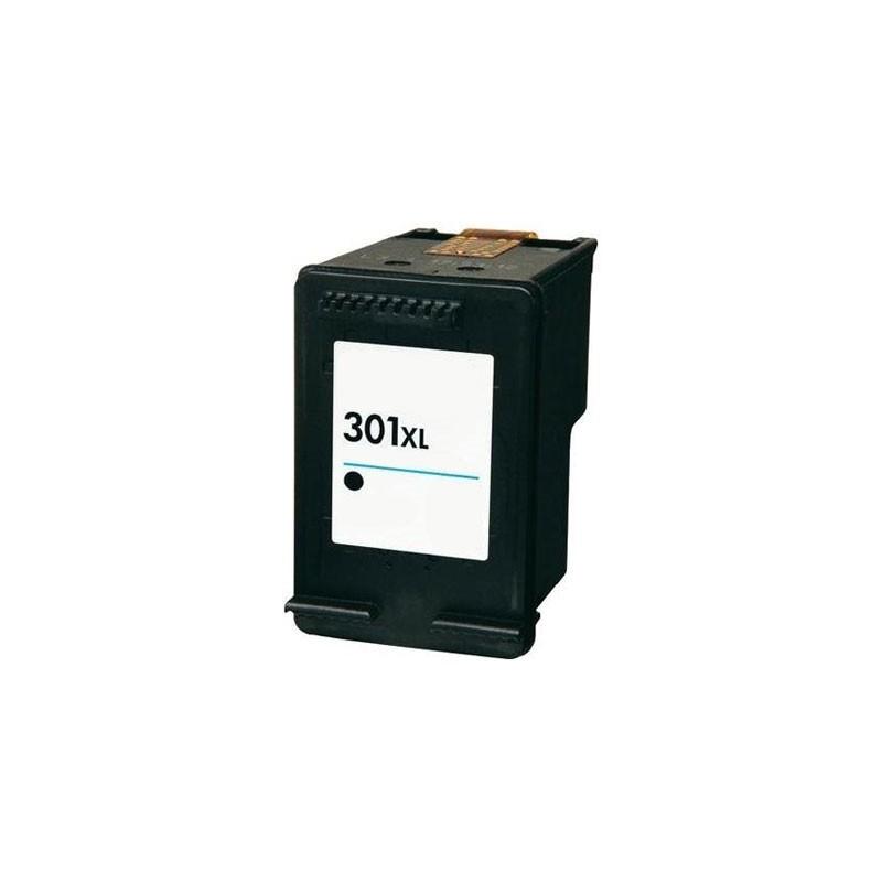 HP 301 XL Tinteiro Reciclado Preto