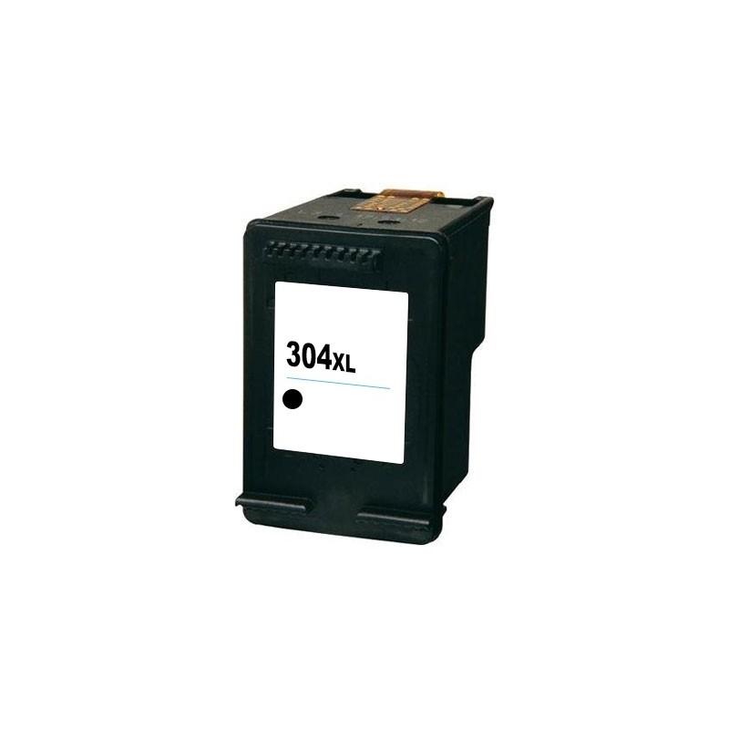 HP 304XL Preto Tinteiro Reciclado