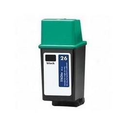Tinteiro Reciclado HP 26 - Preto