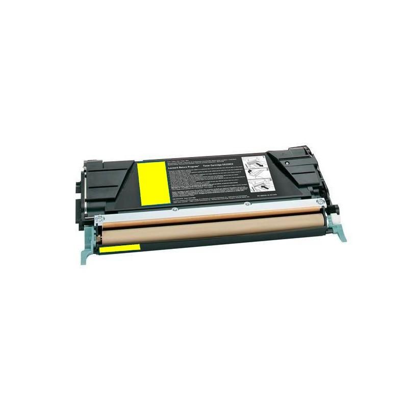 Toner Reciclado Lexmark C530/532 - Y