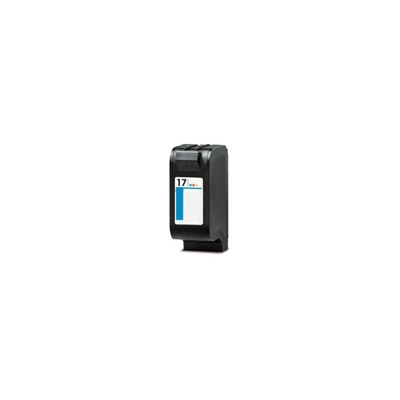 Tinteiro Reciclado HP 17 - Cores