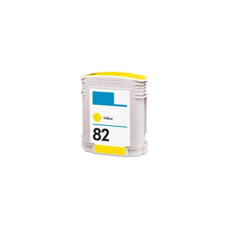 Tinteiro Reciclado HP 82 - Amarelo