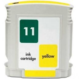 Tinteiro Compativel Hp 11 Amarelo