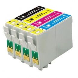 Pack Tinteiros T18XL Economico 4 Cores